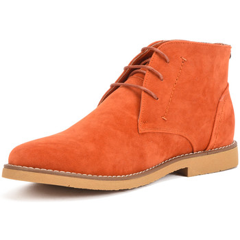 Shoes Men Mid boots Reservoir Shoes Ankle boots with round toe COLINE Orange Man Spring/Summer Coll Orange