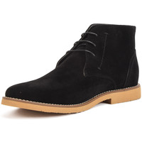 Shoes Men Mid boots Reservoir Shoes Ankle boots with round toe COLINE Black Man Spring/Summer Colle Black