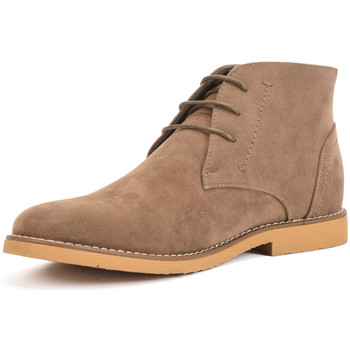 Shoes Men Mid boots Reservoir Shoes Ankle boots with round toe COLINE Taupe Man Spring/Summer Colle Taupe