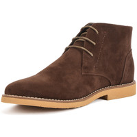 Shoes Men Mid boots Reservoir Shoes Ankle boots with round toe COLINE Taupe Man Spring/Summer Colle Brown