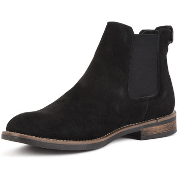 Shoes Women Mid boots Reservoir Shoes Chelsea ankle boots with round toe GAEL Black Man Spring/Summer Black