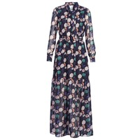 Clothing Women Long Dresses Les Petites Bombes REHISUN Blue / Multicoloured