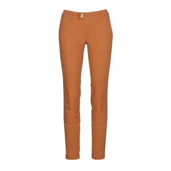 Clothing Women chinos LPB Woman VAWO Cognac