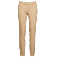 Clothing Women chinos Les Petites Bombes SKIBLOU Beige