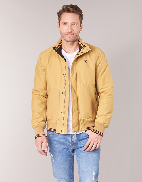 Clothing Men Jackets Oxbow JERES Beige