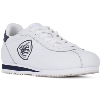 Shoes Men Low top trainers Blauer Bowling White