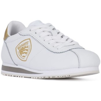Shoes Women Low top trainers Blauer Bowling White