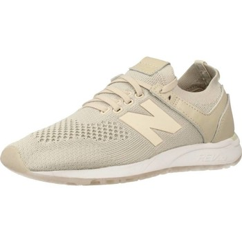 Shoes Women Low top trainers New Balance WRL247 SV Beige