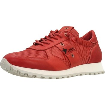 Shoes Men Low top trainers Cetti C1141 Red