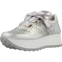 Shoes Women Low top trainers Cetti C1073 V18 Silver