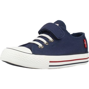 Shoes Children Low top trainers Levi's TRUCKER ELASTIC Blue