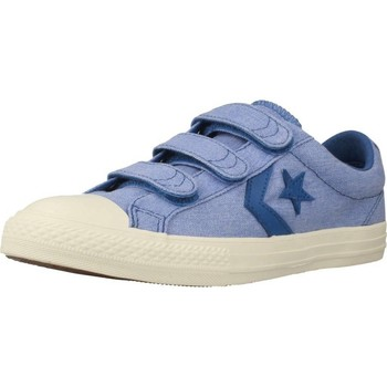 Shoes Girl Low top trainers Converse STAR PLAYER EV 3V - OX Blue