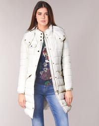 Clothing Women Duffel coats Desigual INGA White