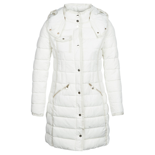 Clothing Women Duffel coats Desigual INGA White