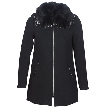 Clothing Women coats Desigual COLLINE Black