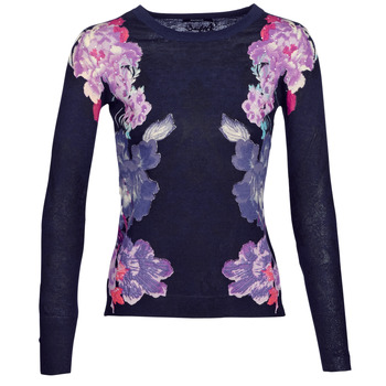 Clothing Women jumpers Desigual FARA Marine