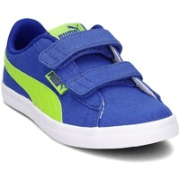 Shoes Children Low top trainers Puma 36641201 Blue