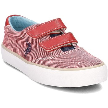 Shoes Women Low top trainers U.S Polo Assn. Galab Red-White
