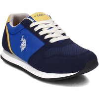 Shoes Women Low top trainers U.S Polo Assn. Nobik Black-Blue
