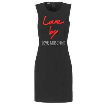 Clothing Women Short Dresses Love Moschino CARININA Black
