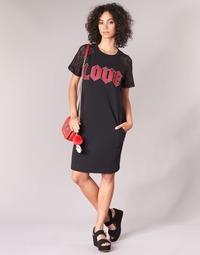Clothing Women Short Dresses Love Moschino BLAFA Black