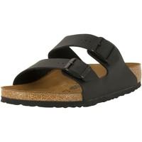 Shoes Men Mules Birkenstock Arizona Birko-Flor Sandals black