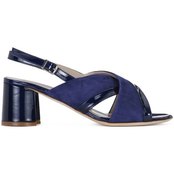 Shoes Women Sandals Melluso Valeria Navy blue
