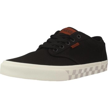 Shoes Men Low top trainers Vans MN ATWOOD Black