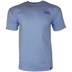 Clothing Men short-sleeved t-shirts Huf Bar Logo Tee blue