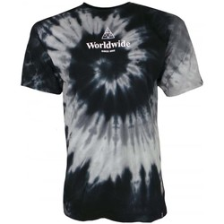 Clothing Men short-sleeved t-shirts Huf WW TT Tiedye Tee black