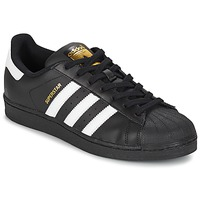 Shoes Men Low top trainers adidas Originals SUPERSTAR FOUNDATION White / Black