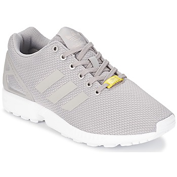 Shoes Men Low top trainers adidas Originals ZX FLUX Grey / White
