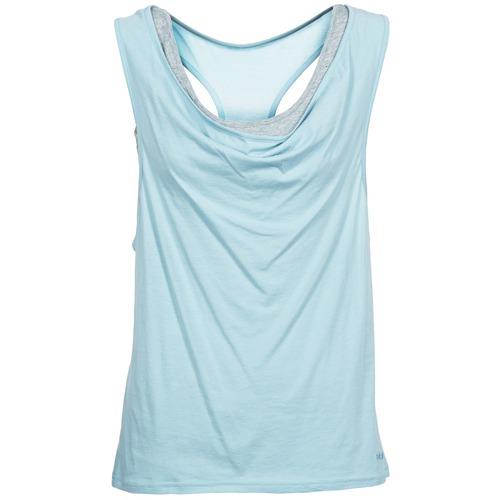 Clothing Women Tops / Sleeveless T-shirts Bench SKINNIE Blue
