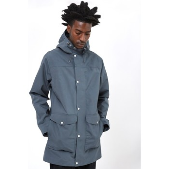 Clothing Men Parkas Fjallraven Greenland Eco-Shell Jacket Grey Grey