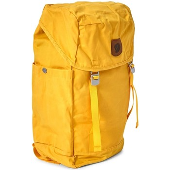 Bags Men Rucksacks Fjallraven Greenland Top Large Backpack Yellow Yellow