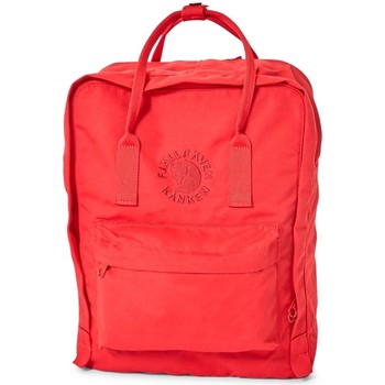 Bags Men Rucksacks Fjallraven Re-Kanken Backpack Red Red