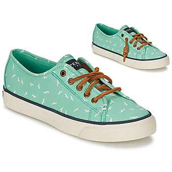 Shoes Women Low top trainers Sperry Top-Sider SEACOAST Green