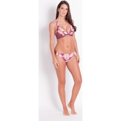 Clothing Women Bikini Separates Maaji , Triangle bikini Top, reversible, Purple- Arusi Merlot Litchi