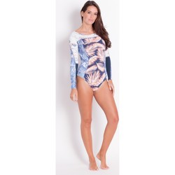 Clothing Women Swimsuits Maaji , One Piece Swimsuit, Long Sleeve, Multicolored- Solano Bay Multi Color