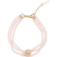 Watches Women Bracelets Hipanema Bracelet  Celestine, Nude Pink