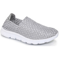 Shoes Women Low top trainers Lunar Ladies Maverick Elastic Shoe Silver