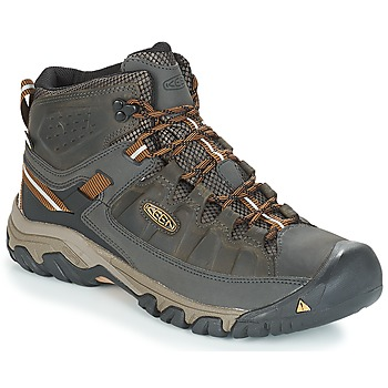 Shoes Men Walking shoes Keen TARGHEE III MID WP Kaki