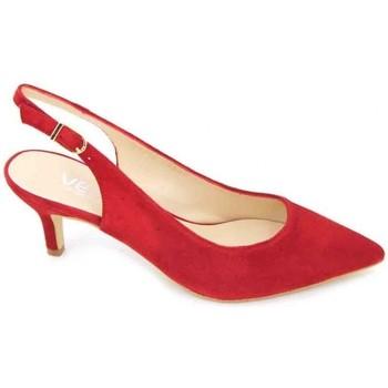 Shoes Women Sandals Calzados Vesga Estiletti 2345 Women's Dress Shoes red