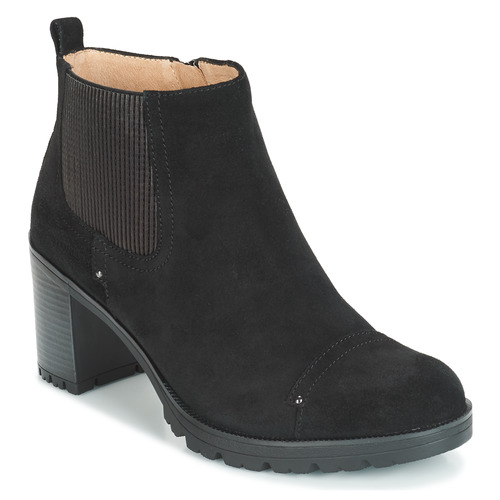Shoes Women Ankle boots Stonefly BLASY 2 VELOUR Black