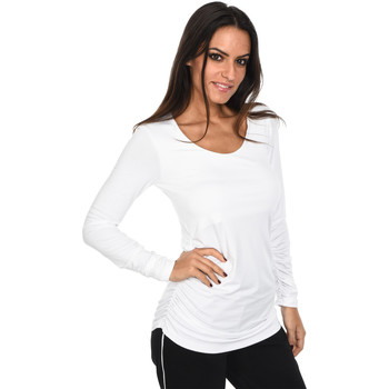 Clothing Women long-sleeved polo shirts Isabella Oliver T-Shirt The Maternity Scoop Top Sky blue F Blue