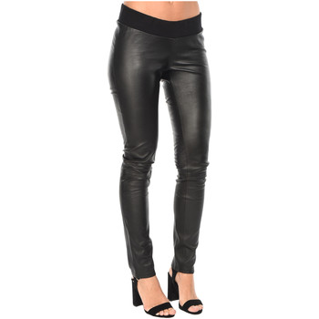 Clothing Women Trousers Isabella Oliver Trousers Rowsley Maternity Leather Legging Black F Black