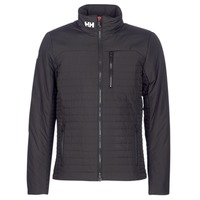 Clothing Men Jackets Helly Hansen CREW INSULATOR JACKET Black