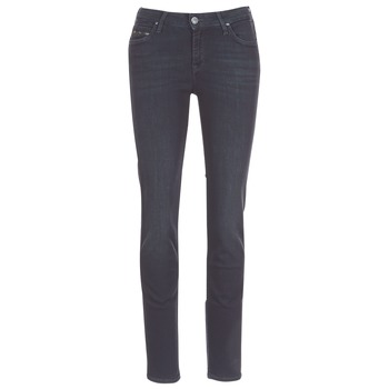 Clothing Women straight jeans Lee ELLY ZIP Black