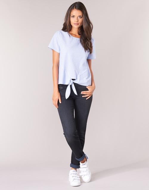Clothing Women straight jeans Lee ELLY ZIP Black