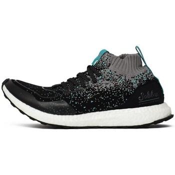 Shoes Men Hi top trainers adidas Originals Consortium Ultraboost Mid SE X Grey-Black